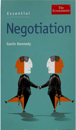 Essential Negotiation Book by Gavin Kennedy