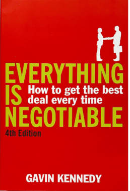 everything is negotiable book