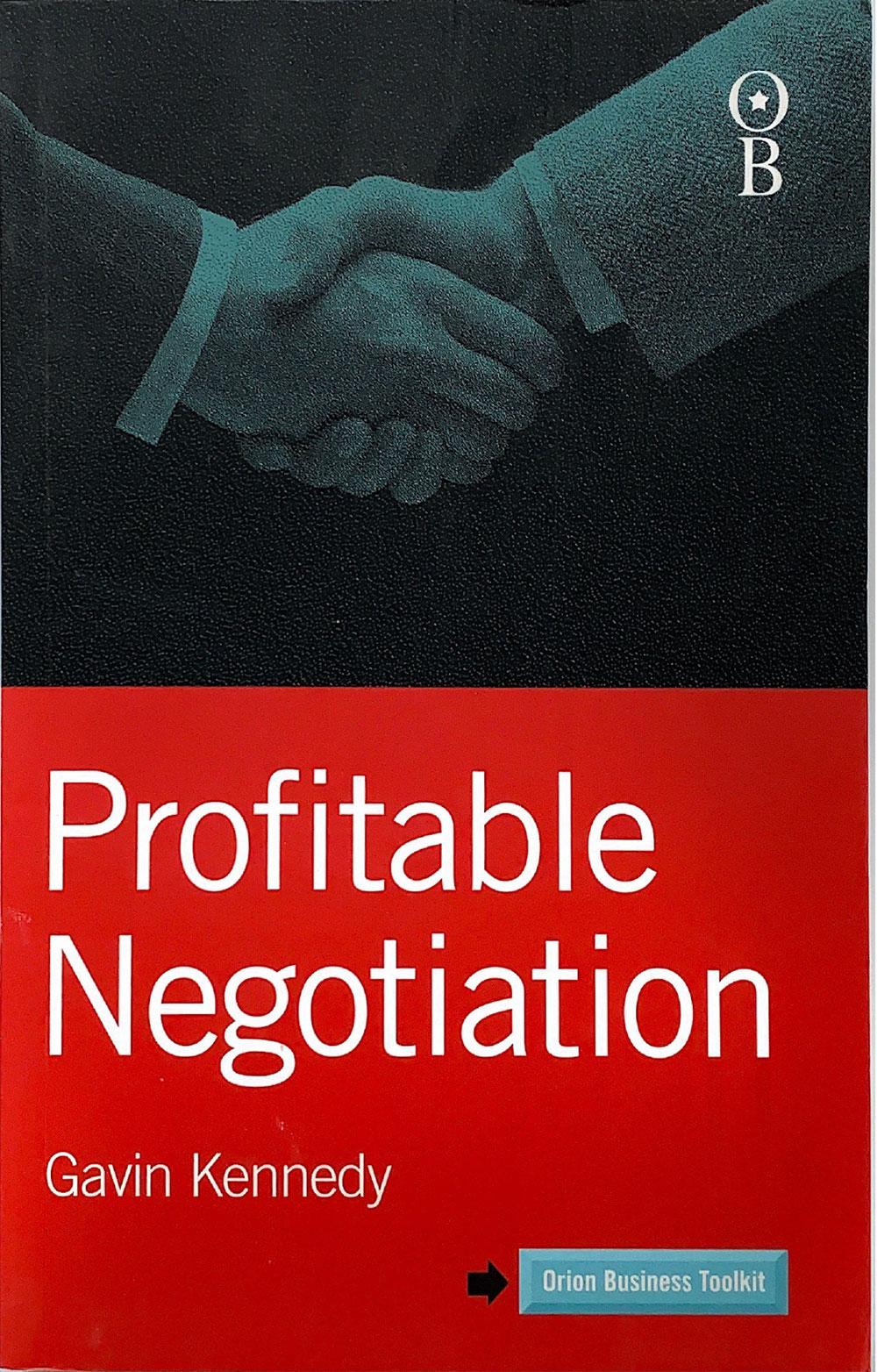 Profitable Negotiation Book by Gavin Kennedy