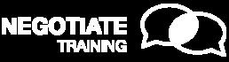 Negotiate Logo White